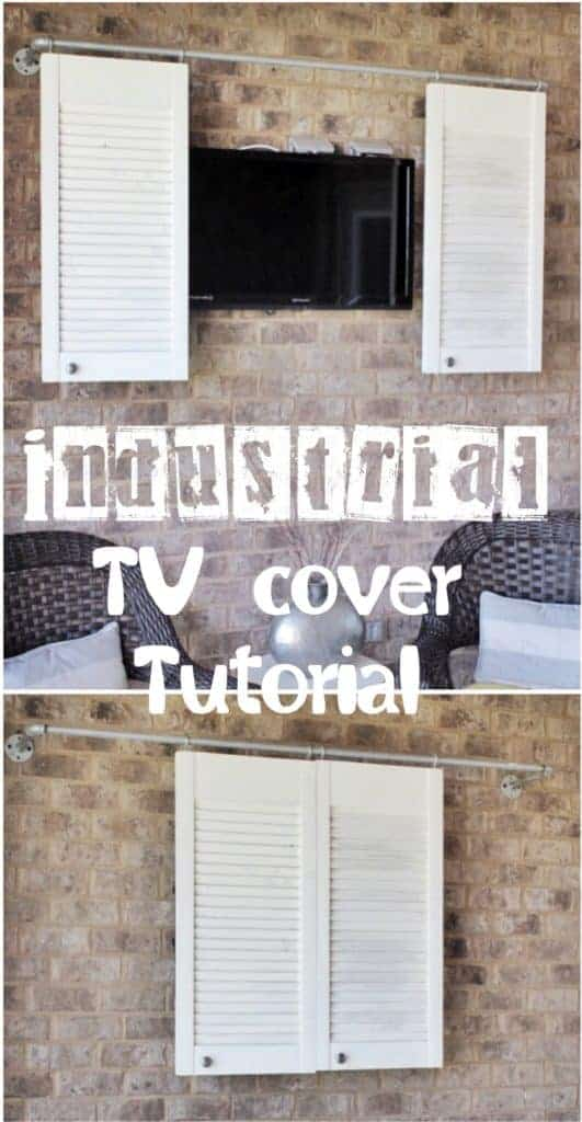 DIY outdoor TV cover