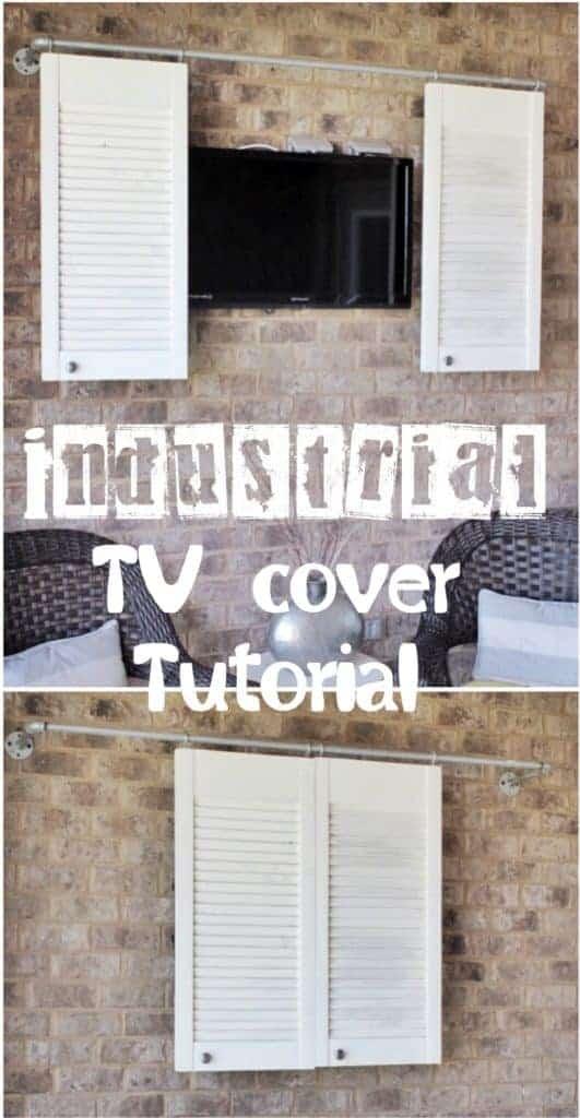 DIY outdoor TV cover
