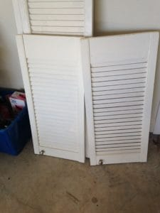 Shutters to be used for tv cover