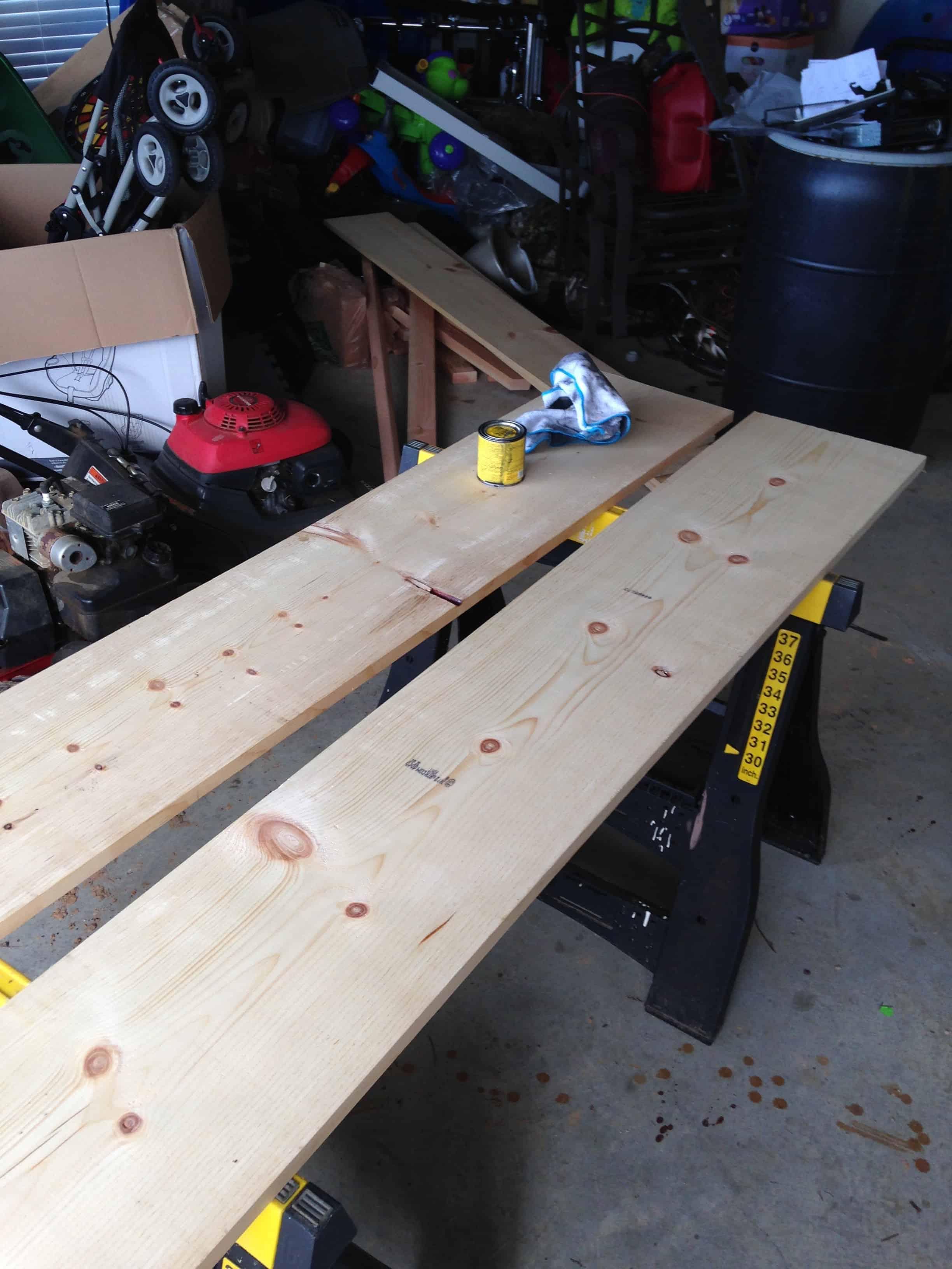 wood for floating shelves
