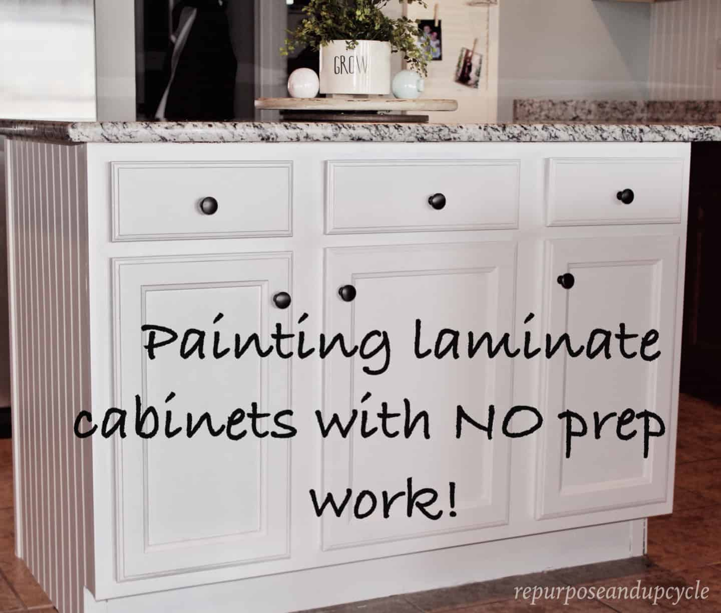 Painting Laminate Cabinets The Right Way Without Sanding