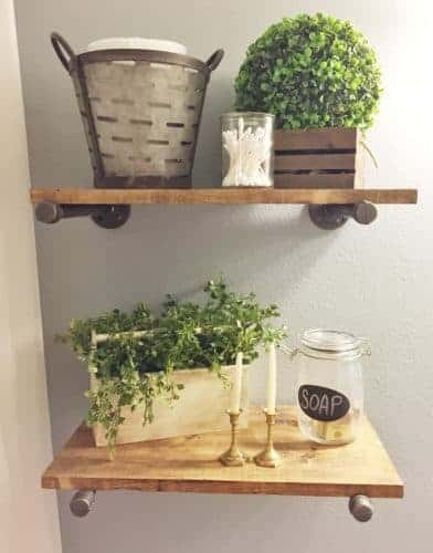 Industrial Pipe Open SHelving