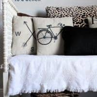 How to create a Jenny Lind Crib to a bench