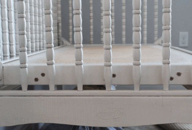 How to convert a Jenny Lind Crib to a bench or daybed