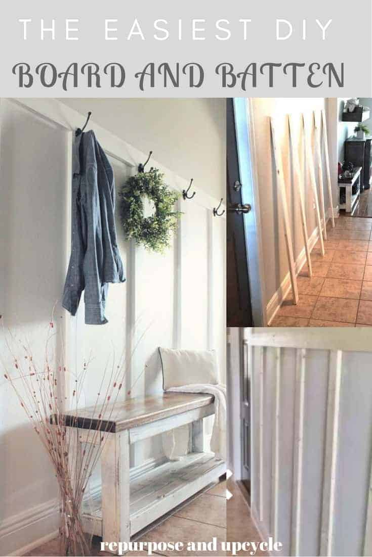 The Easiest DIY Board and Batten