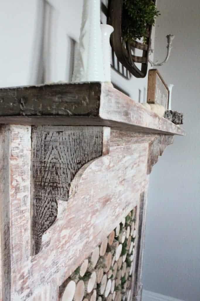 antique mantel
