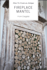 How to Create an Antique Fireplace Mantel From Craigslist