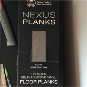 vinyl planks for faux shiplap