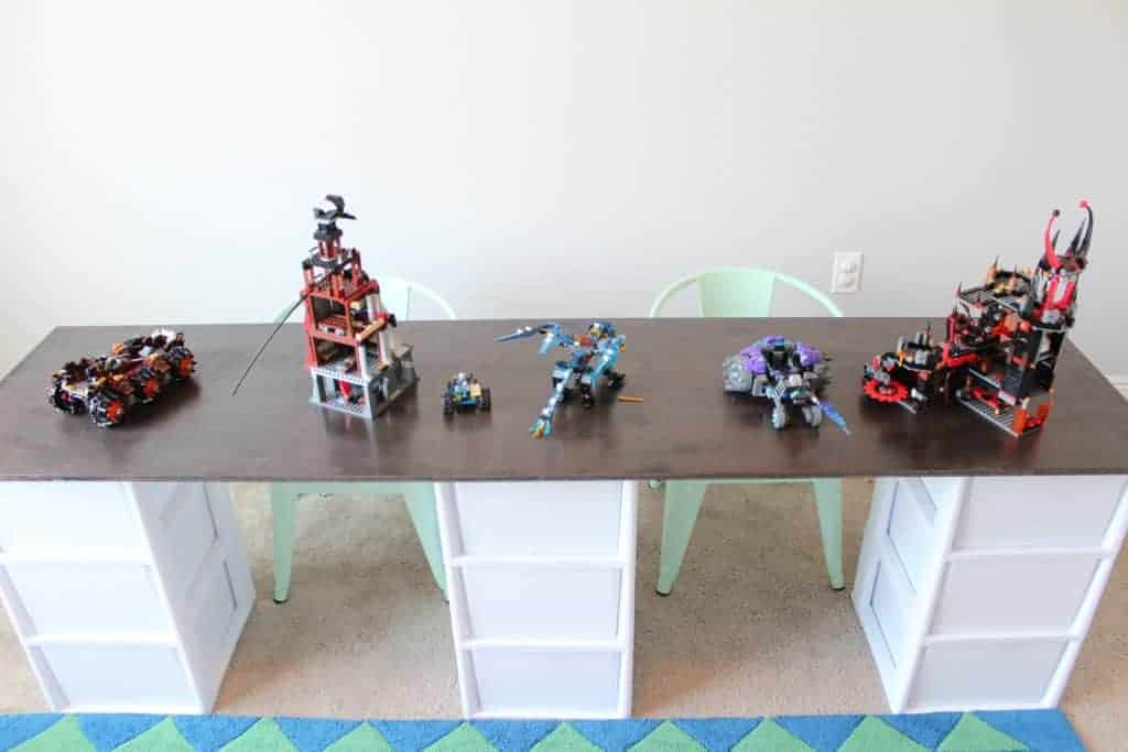 DIY Lego Table or Craft Storage Table