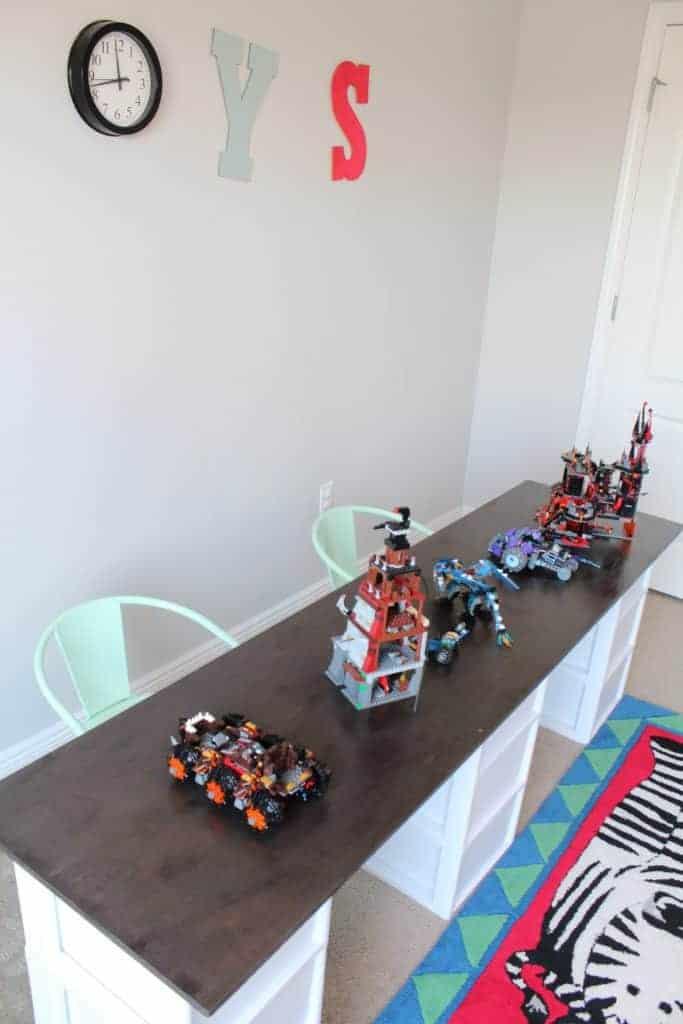 DIY Lego Table or Craft Storage Table