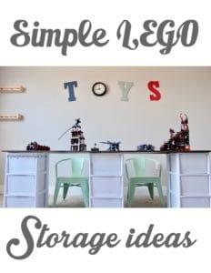 Simple Lego Storage Ideas