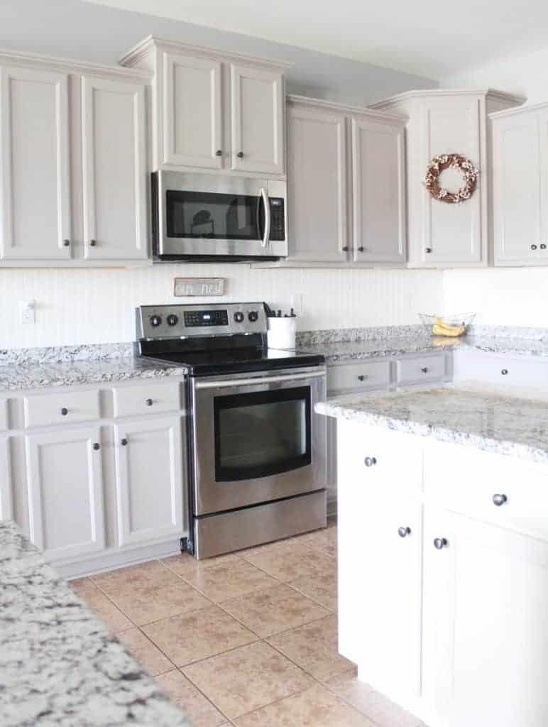 Budget friendly modern farmhouse kitchen update for Modern kitchen updates