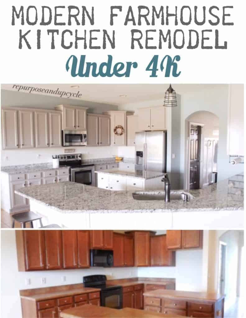 modern farmhouse kitchen remodel