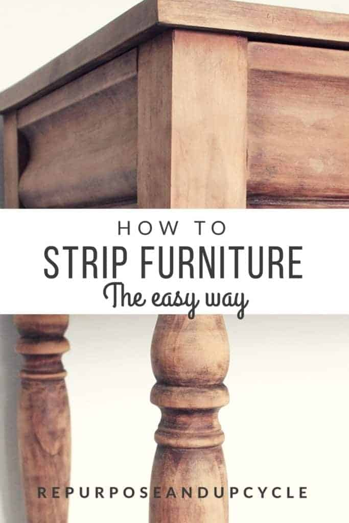 How to Strip furniture and wood