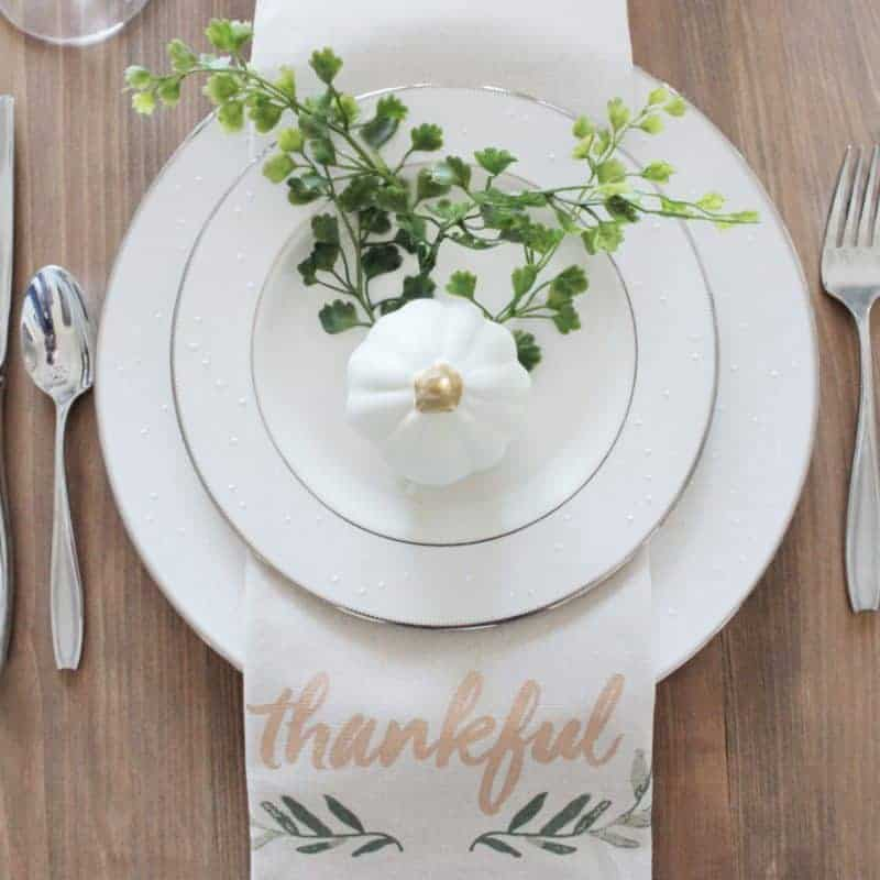 Fall Tablescape 2017