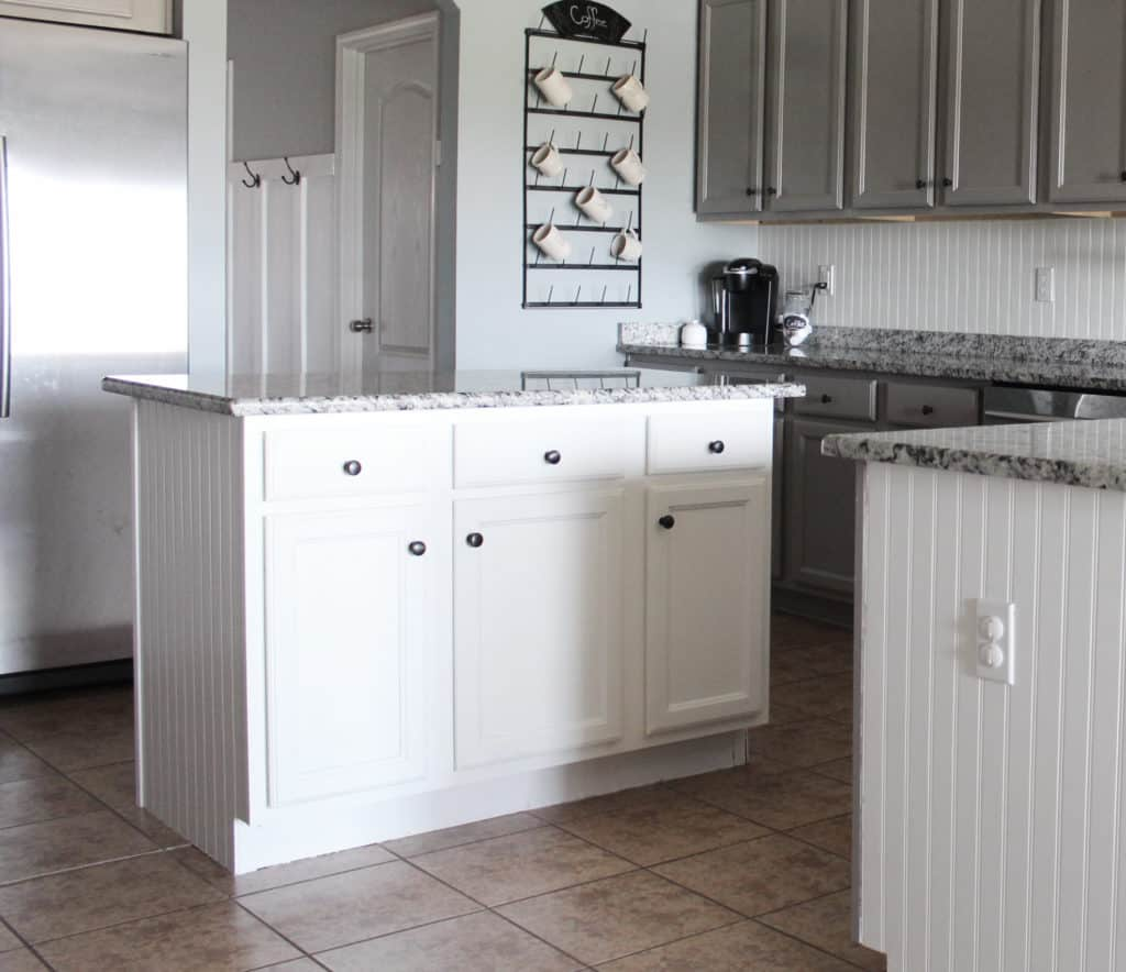A Year in Review of How I Painted my Laminate Kitchen Cabinets