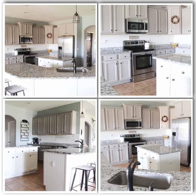 Brilliant A Year In Review Of How I Painted My Laminate Cabinets Home Interior And Landscaping Ologienasavecom