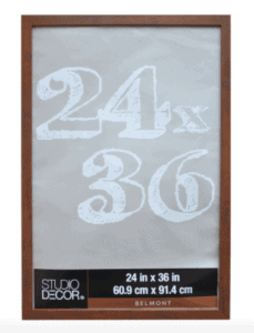 picture frame 24 by 36