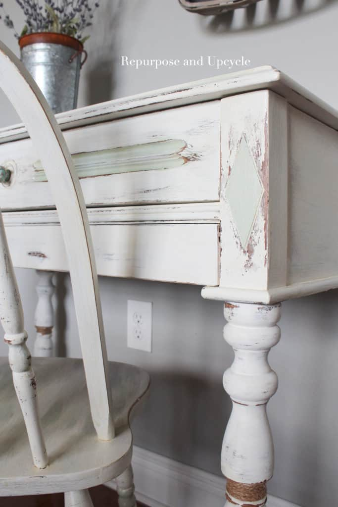 antique coastal dresser makeover