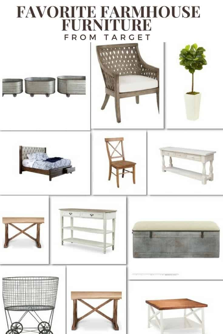 favorite farmhouse furniture from target