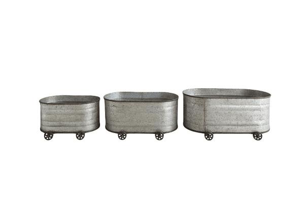 Metal Storage Trolley