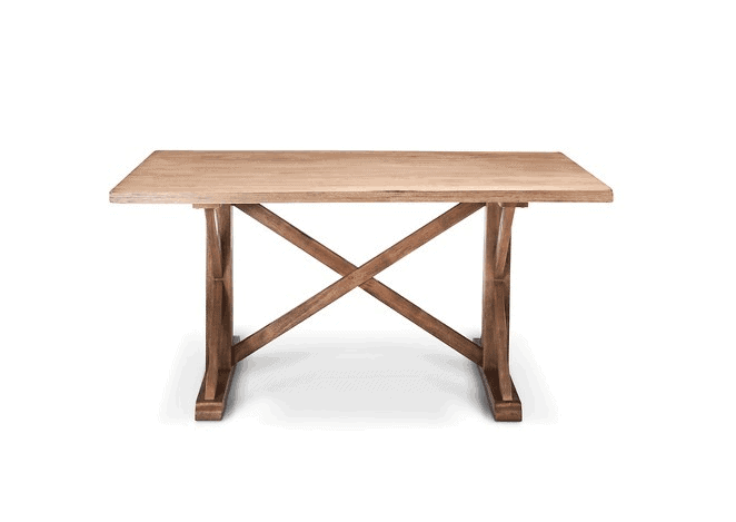 Rectangle dining room table farmhouse