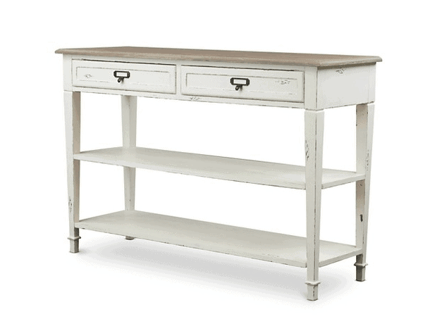Traditional French Accent Console Table