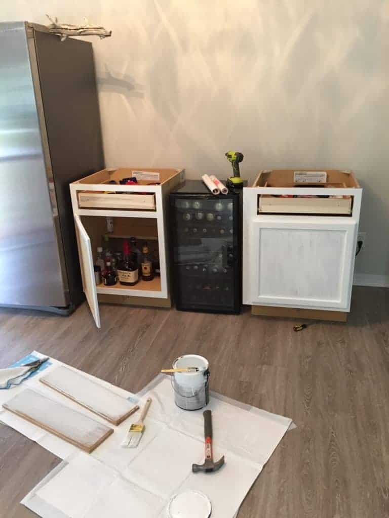 DIY beverage bar and diy coffee bar