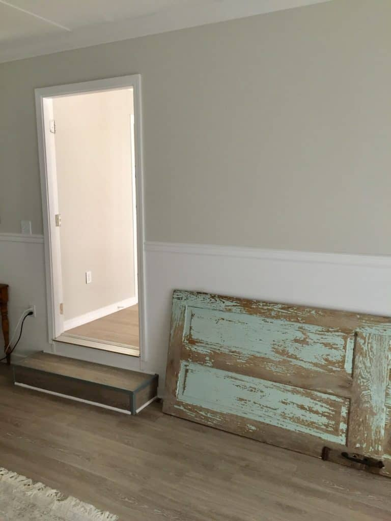A home for our chippy antique door