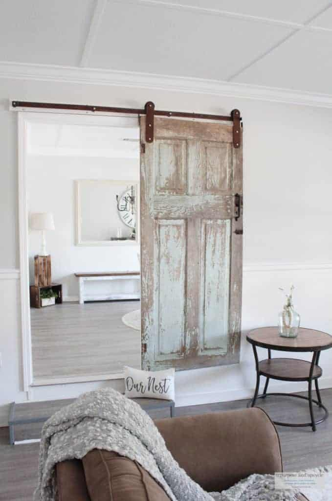 chippy antique door