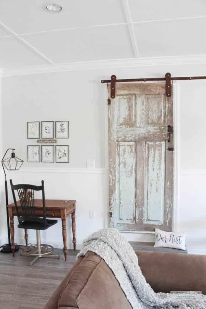 chippy vintage door