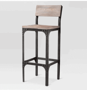 metal farmhouse style bar stool