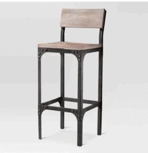 metal farmhouse style bar stool