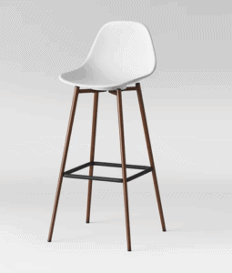 scandinavian style bar stool