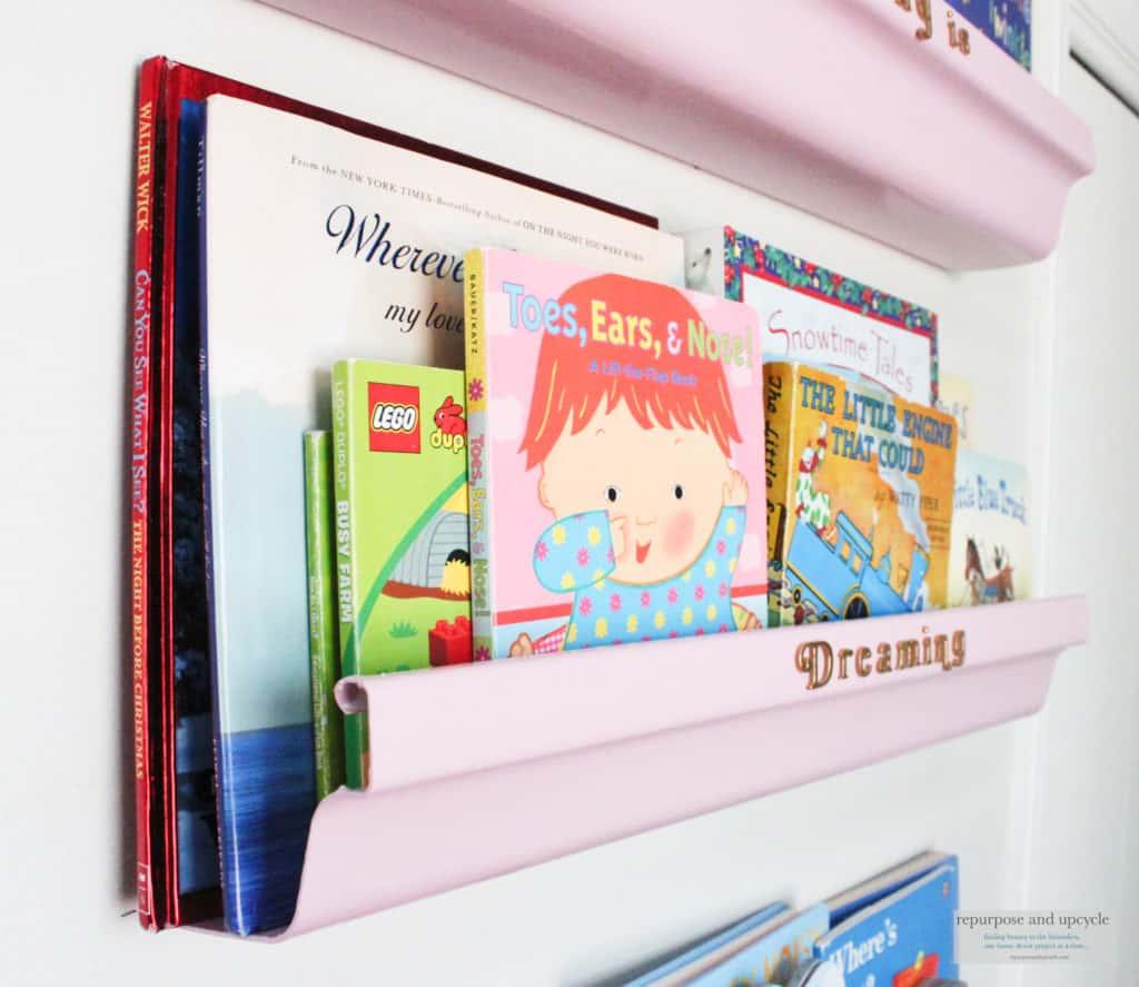 DIY book ledge