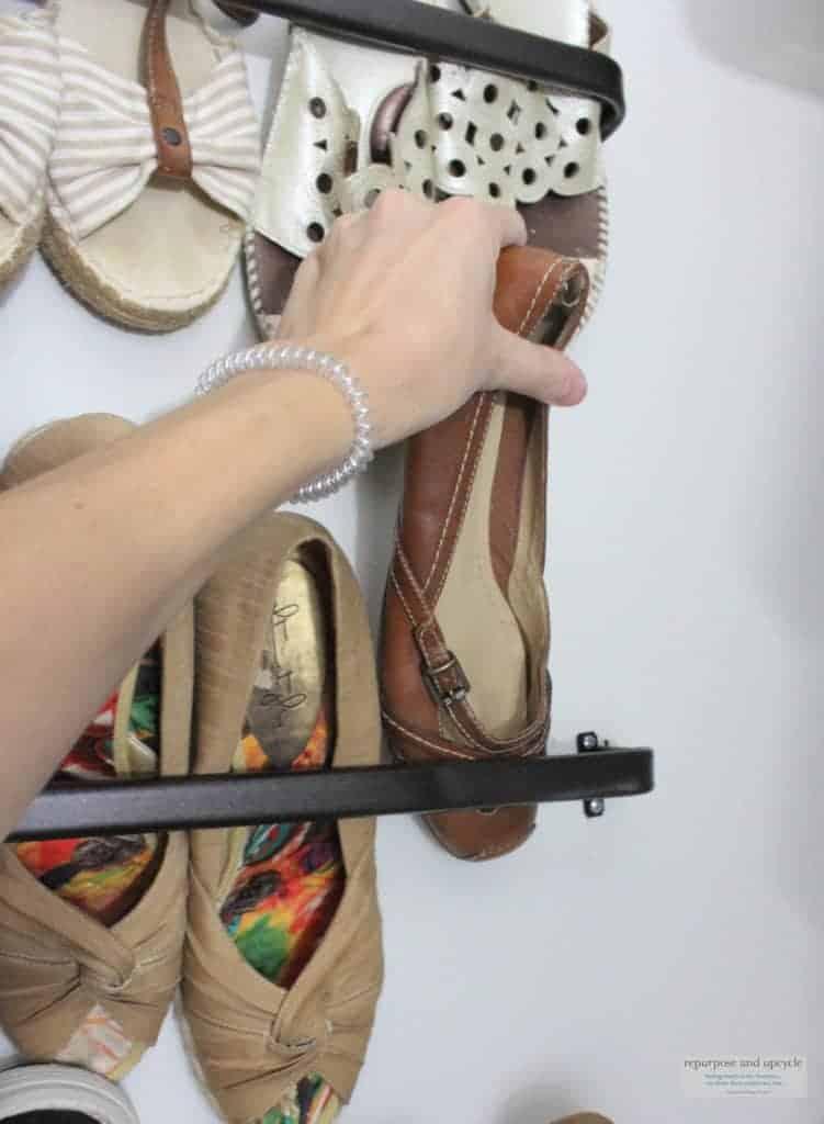 Shoe Organization hack