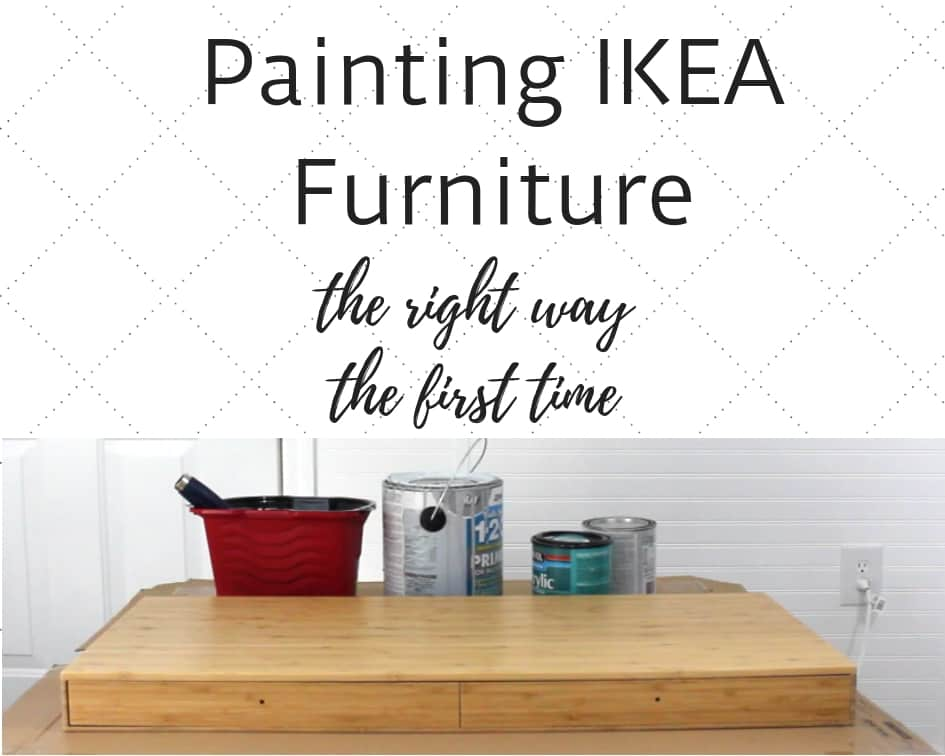 Can You Paint Ikea Dressers Shelves And Other Laminate