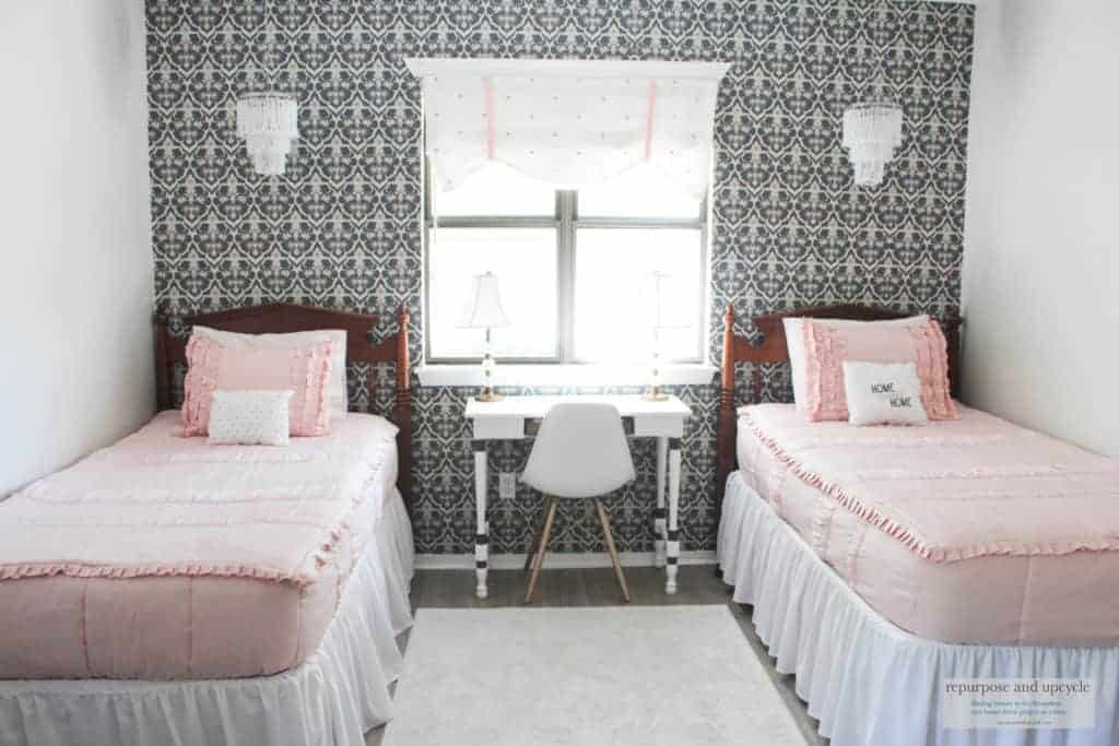Vintage Chic bedroom makeover