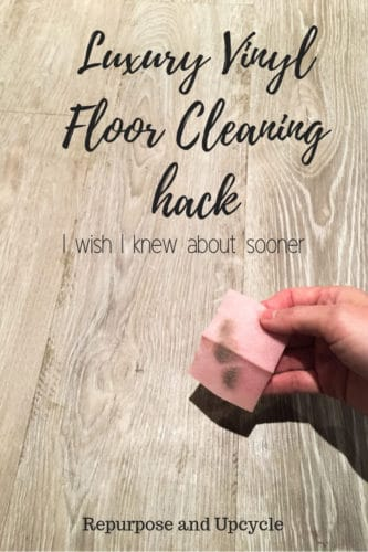 How to Clean Floor Glue and Heavy Dirt off Luxury Vinyl Flooring