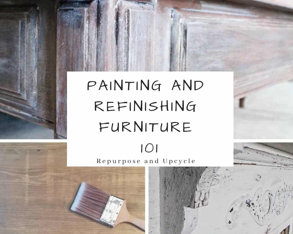 painting and refinishing furniture 101