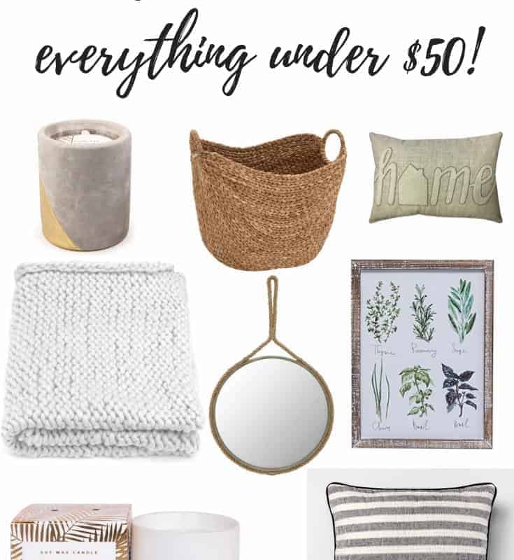neutral colored gift guide anyone would love under $50