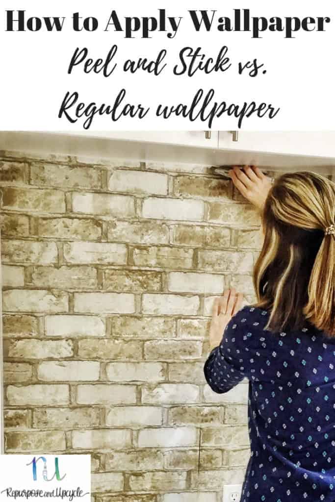 How to Apply Wallpaper; Peel and Stick vs. Regular Wallpaper
