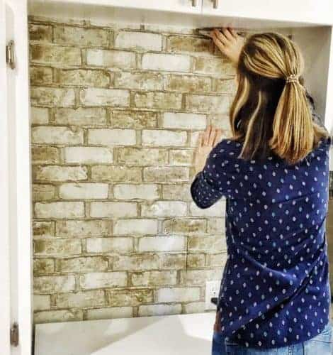 How to apply wallpaper; peel and stick vs. regular wallpaper