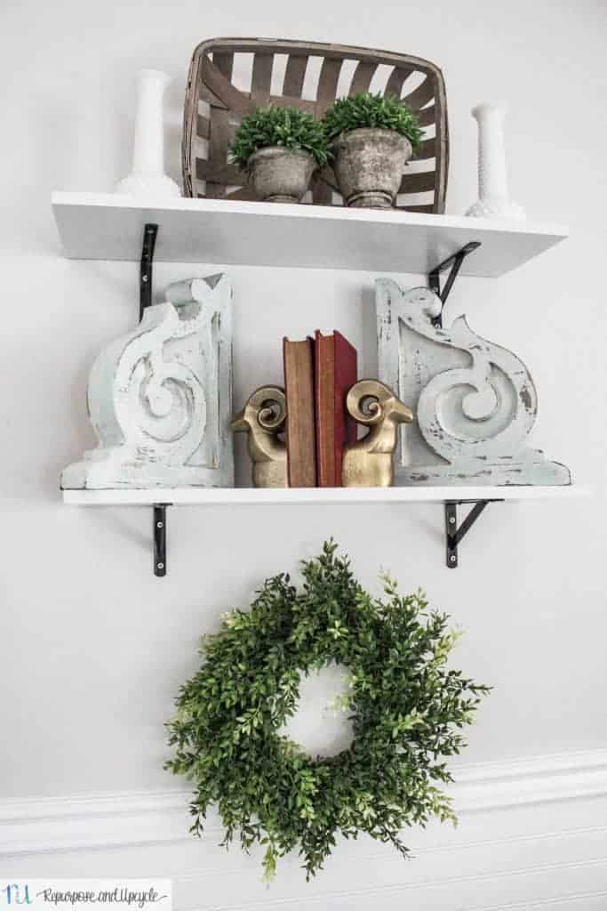 Affordable Open Shelving with a Few Shelf Styling Tips