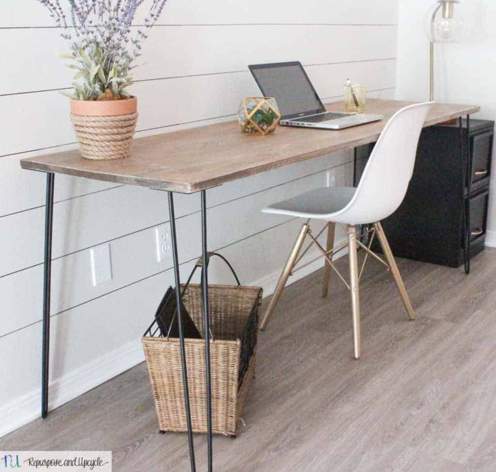DIY Hairpin Leg Table