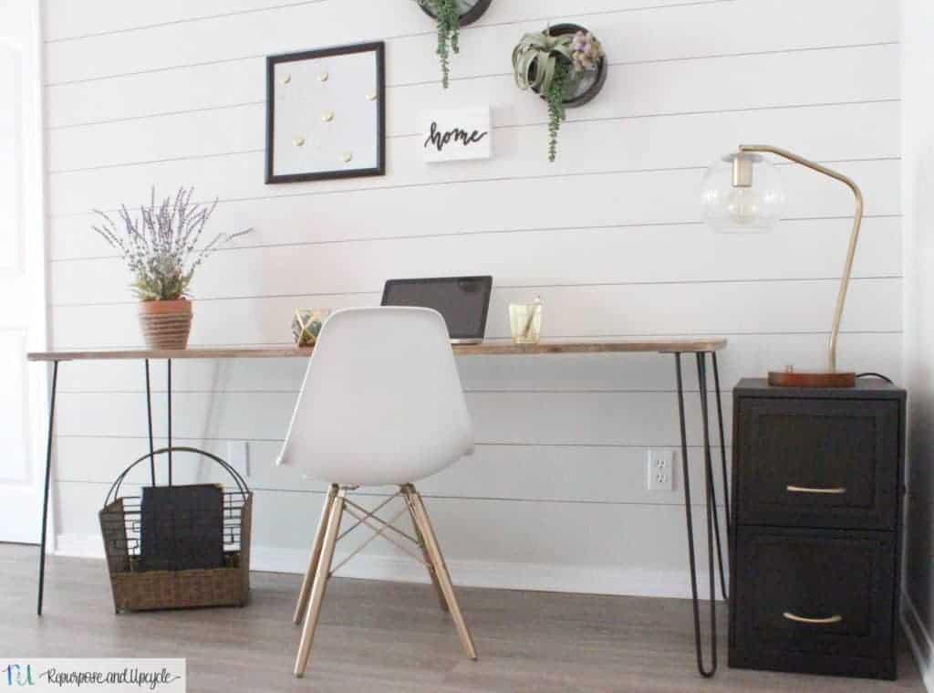 DIY Hairpin Leg Table