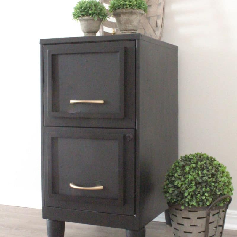Easy Filing Cabinet Makeover