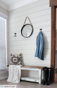 DIY shaprie shiplap