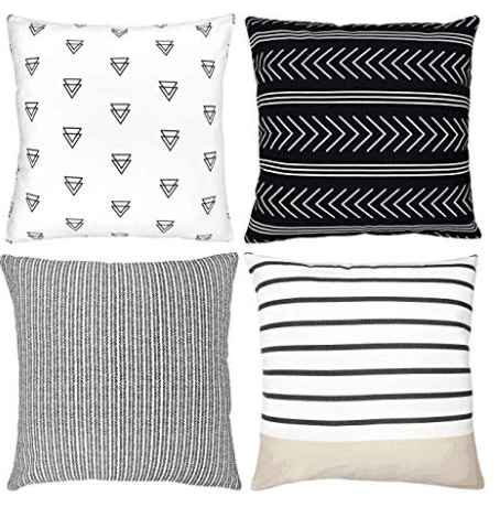 Boho style pillow covers