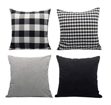 modern farmhouse pillow covers
